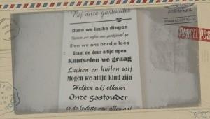 Gastouder Waterwijk, Lelystad Jacqueline Voerman tribute