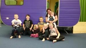 Gastouder Waterwijk, Lelystad Jacqueline Voerman met kinderen