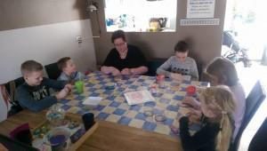 Gastouder Waterwijk, Lelystad Jacqueline Voerman met kinderen thuis
